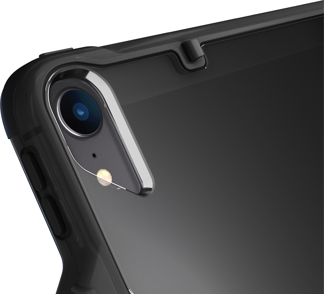 Partial view of smartphone camera lens
