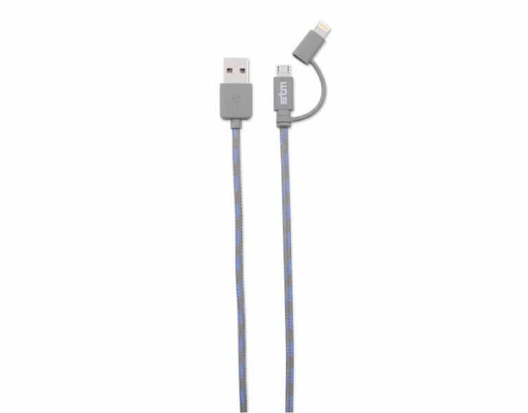elite series 2-in-1 sync charge cable