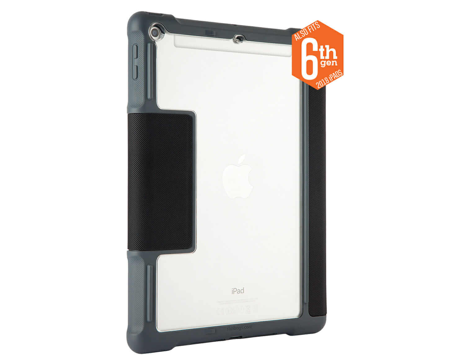 detailing fd8fd 4fe99 iPad 6th Gen Case With Apple Pencil or Logitech Crayon Storage (Commercial)